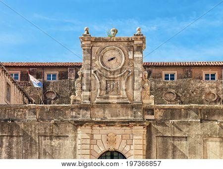 Fragment Of Jesuit College In Dubrovnik