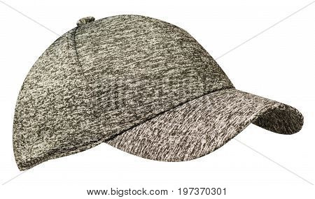 Sports Cap Isolated On A White Background .cap With Visor