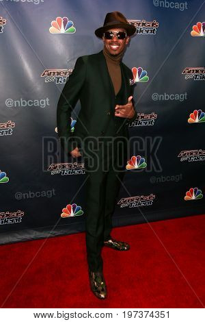 NEW YORK-AUG 26: TV host Nick Cannon attends the 'America's Got Talent' Season 10 Results Show at Radio City Music Hall on August 26, 2015 in New York City.