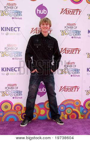 LOS ANGELES - OCT 24:  Jason Dolley arrives at the Variety Power of Youth Event 2010 at Paramount Studios on October 24, 2010 in Los Angeles, CA