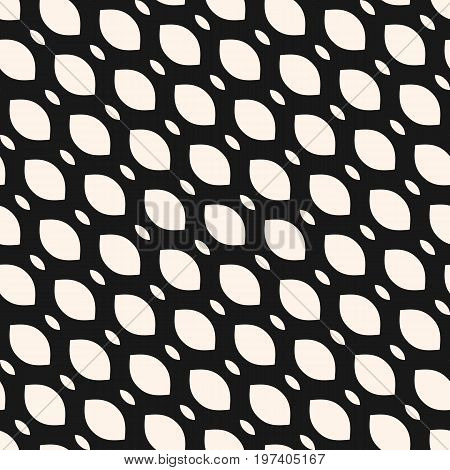 Seamless pattern, diagonal mesh texture, illustration of smooth lattice, tissue structure, weaving. Simple monochrome geometric abstract background. Design element for prints, fabric, textile. Mesh pattern, grid pattern, lattice pattern.