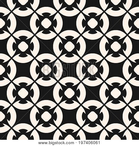Floral pattern. Ornamental seamless pattern, vector geometric floral texture, monochrome ornament delicate lattice. Abstract background in oriental style. Design pattern, digital pattern, web pattern, package pattern, decor pattern, fabric pattern.