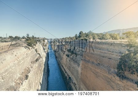 Corinth Canal In Greece 2