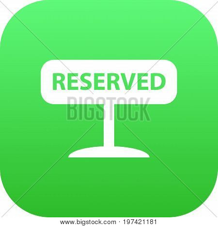 Vector Registered Element In Trendy Style.  Isolated Reserved Icon Symbol On Clean Background.