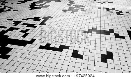 Wall tiles, bathroom tile texture, colorful tiles background. See how the game Tetris