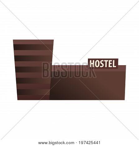 Hostel Building. Guest House. Hotel Building. Travel.