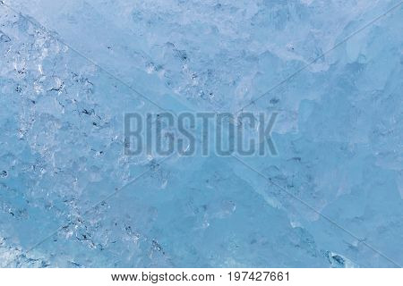 Ice wall texture close up Ice glacier close up background