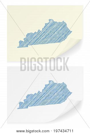 Kentucky Scribble Map