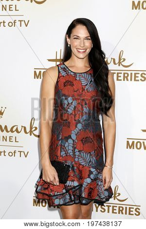 LOS ANGELES - JUL 27:  Amanda Righetti at the Hallmark TCA Summer 2017 Party at the Private Residence on July 27, 2017 in Beverly Hills, CA
