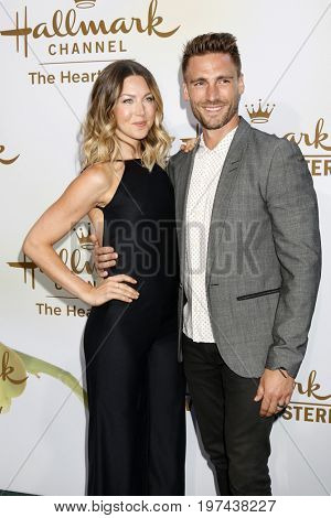 LOS ANGELES - JUL 27:  Wife, Andrew Walker at the Hallmark TCA Summer 2017 Party at the Private Residence on July 27, 2017 in Beverly Hills, CA