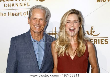 LOS ANGELES - JUL 27:  Gregory Harrison, daughter at the Hallmark TCA Summer 2017 Party at the Private Residence on July 27, 2017 in Beverly Hills, CA