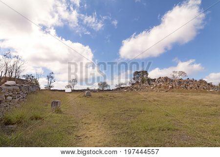 Stone Stable. Serra da Canastra National Park is a national park in the Canastra Mountains of the state of Minas Gerais Brazil.