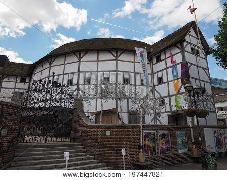 Globe Theatre In London