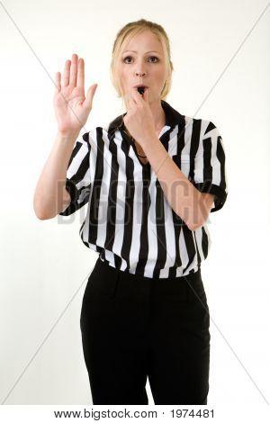 Woman Referee