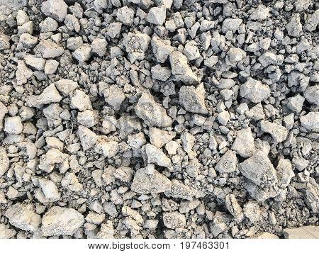 peat soil as a background. soil texture