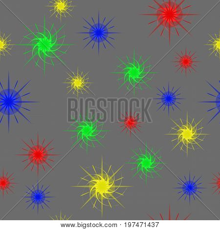 Abstract Stars. Seamless Texture for background image on websites e-mails.