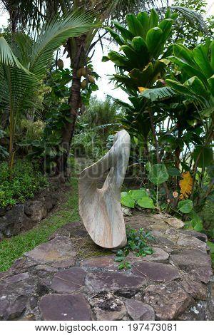 Hawaii, Usa - December 28, 2016: Sculpture Garden, Art By Steve Turnbull