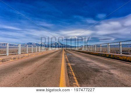 Rio Grande Gorge Bridge in Taos, New Mexico