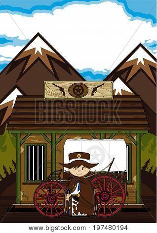 Cowboy, Wagon & Jail
