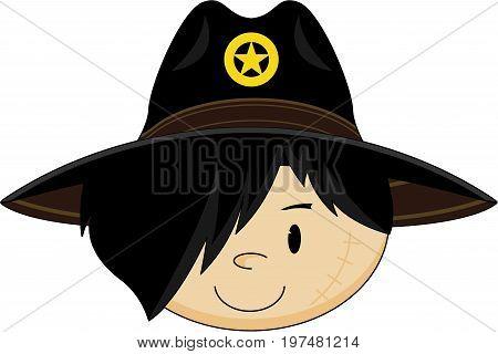 Cowboy Sheriff Head.eps