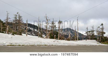 Mount Iwate In Tohoku, Japan