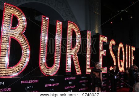 """LOS ANGELES - NOV 15:  Atmosphere arrives at the """"Burlesque"""" LA Premiere  at Grauman's Chinese Theater on November 15, 2010 in Los Angeles, CA"""