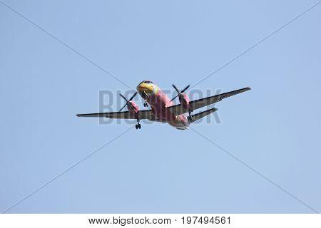Hs-gbd Saab340 Of Nokmini Airline