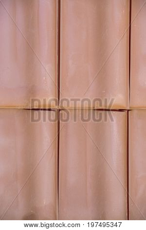 Closeup Of Clay Roof Tiles Background 5
