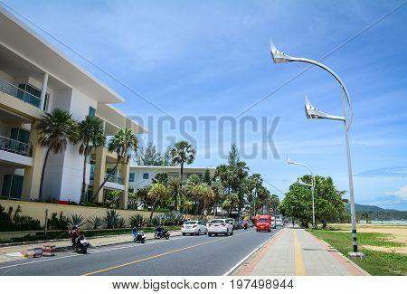 Street In Phuket Island, Thailand