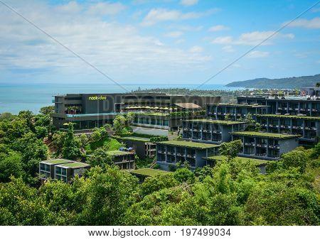 Luxury Resort On The Hill In Phuket, Thailand