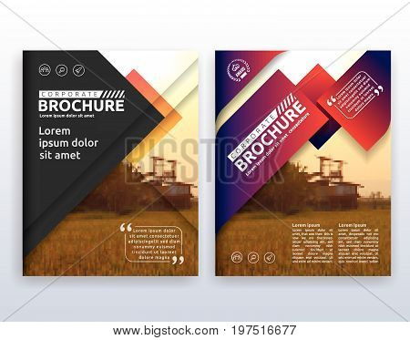Multipurpose modern corporate business flyer layout design. Suitable for flyer brochure book cover and annual report. 8.5x11 inches document layout template background with bleeds.