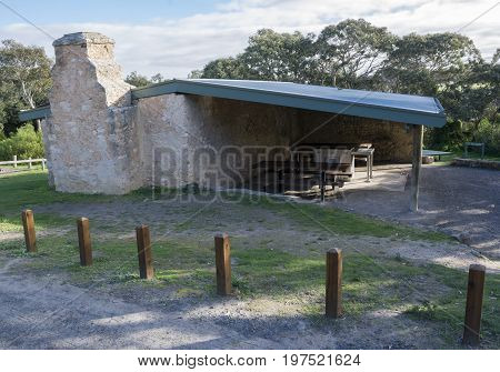 Dennis Hut Bbq Area, Waitpinga, South Australia