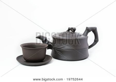 Traditional Teapot And Cup
