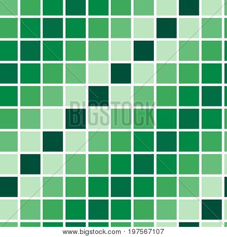 Square vector seamless background pattern with tiles