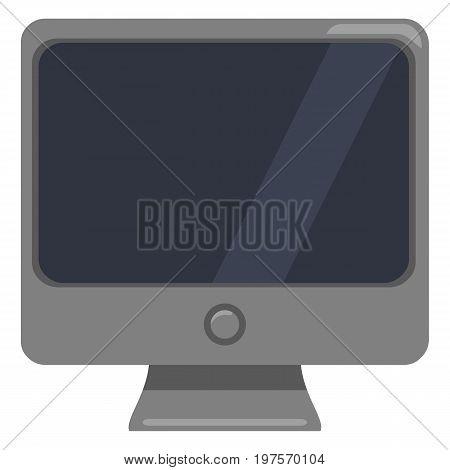 Vector Color Flat Icon - Monoblock Pc.