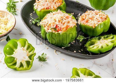 Homemade Stuffed Bell Pepper