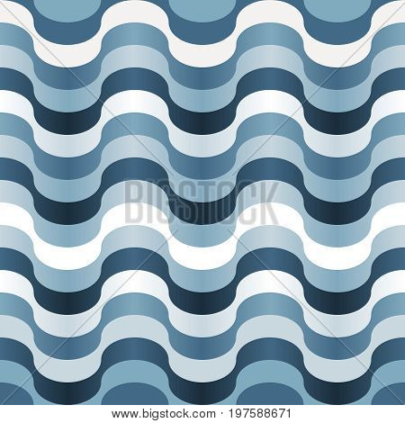 Seamless square abstract blue swirl texture pattern