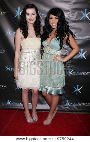 LOS ANGELES - DEC 14:  Jillian Clare, Bianca Magick attend the