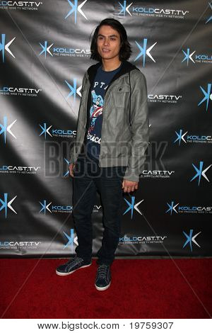 LOS ANGELES - DEC 14:  Kiowa Gordon attends the
