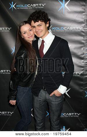 LOS ANGELES - DEC 14:  Brett DelBuono, Morgan Quinn attend the