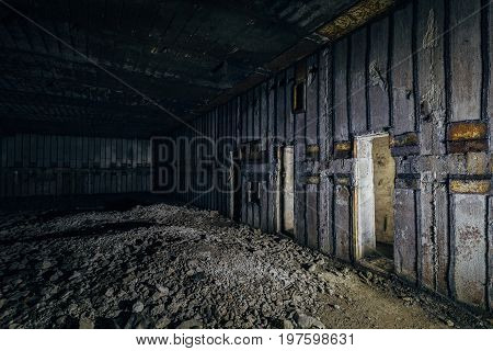 Object 221, abandoned soviet bunker, reserve command post of Black Sea Fleet