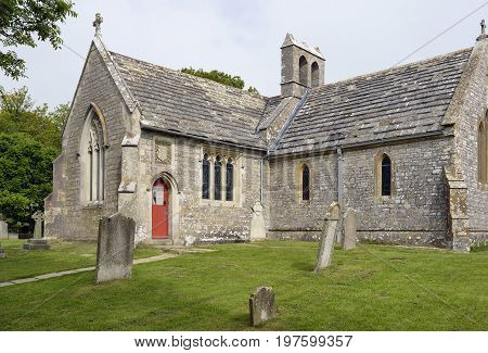 13th century St Mary's Church, Tyneham, Dorset Tyneham was commandeered by the war office n 1943 for military training and was never returned to the villagers. The church has been restored