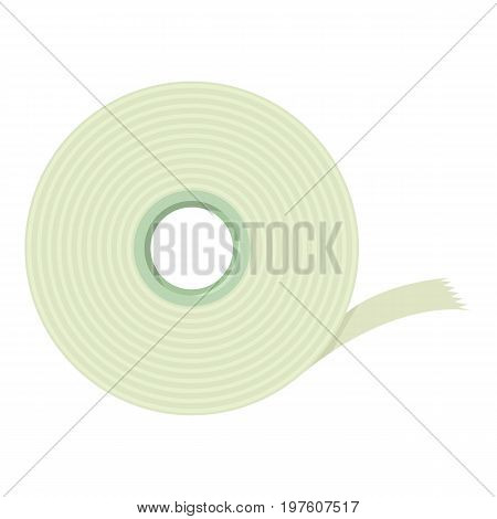 Scotch tape icon. cartoon illustration of scotch tape vector icon for web