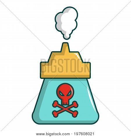 Kill pest gas icon. Cartoon illustration of kill pest gas vector icon for web design
