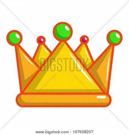 Royal crown icon. Cartoon illustration of royal crown vector icon for web design