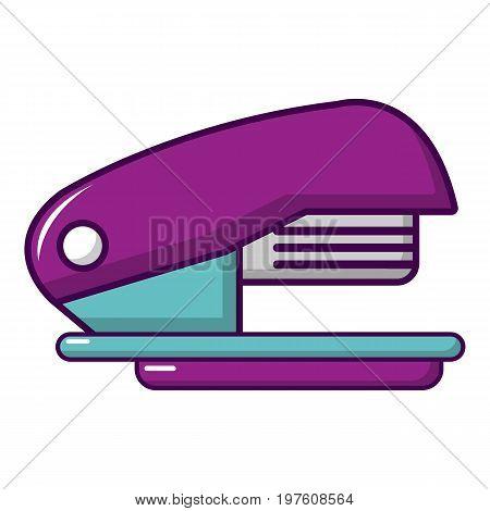 Stapler icon. Cartoon illustration of stapler vector icon for web design