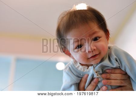 Cute Baby Boy Happy Cheerful