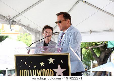 LOS ANGELES - July 26:  Jason Bateman, Will Arnett at the Jason Bateman Hollywood Walk of Fame Star Ceremony at the Walk of Fame on July 26, 2017 in Hollywood, CA