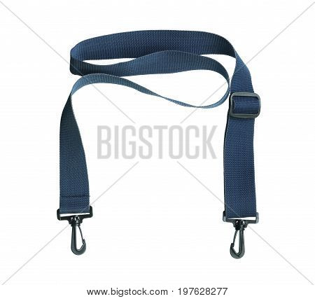 Bag strap isolated on a white background