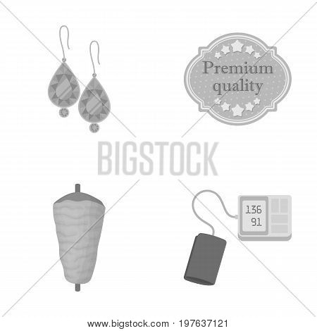 treatment, medicine, advertising and other  icon in monochrome style.tonometers, pressure, hospital, icons in set collection